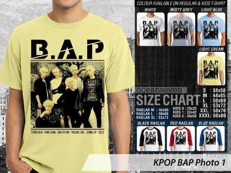 Kaos Bap 1 Photo K Pop Korea distro ocean seven