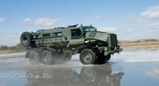 Броневик Урал 4320