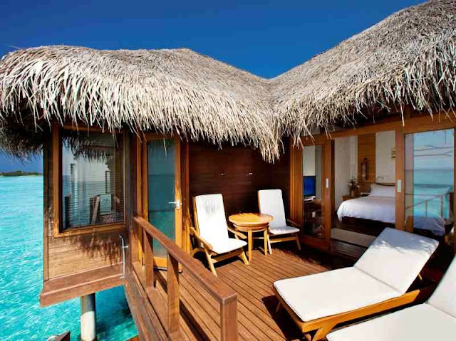 Sheraton Maldives Full Moon Resort-balcony
