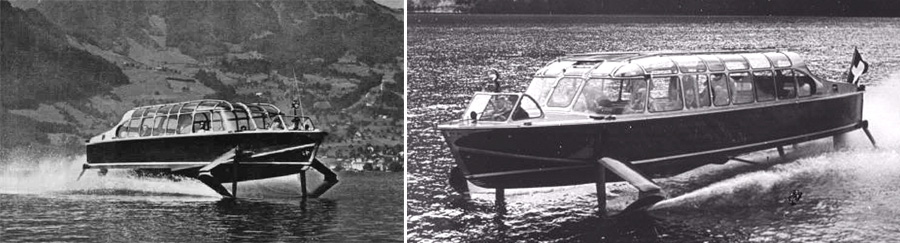 Hydrofoil Boat History Hydrofoil Boats Read