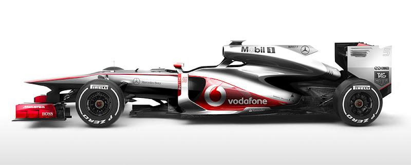 футуристичный дизайн болида McLaren от Klaud Wasiak
