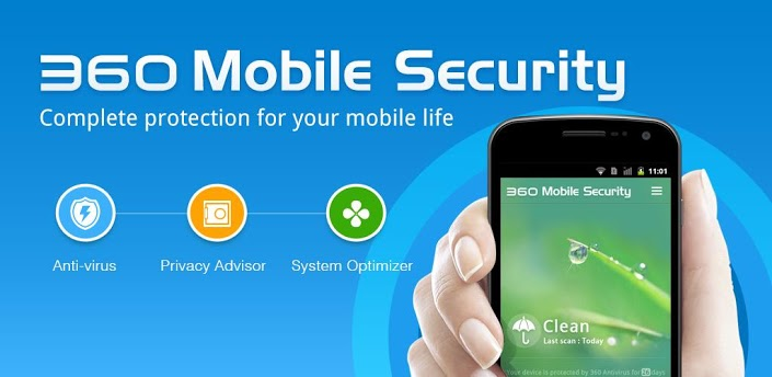 Tải 360 Mobile Security Antivirus cho android