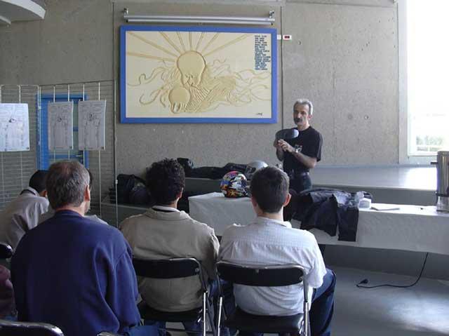 Journée sensibilisation collège Pacé mai 2004