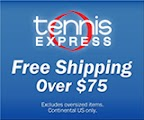 Free Shipping for Tennis!