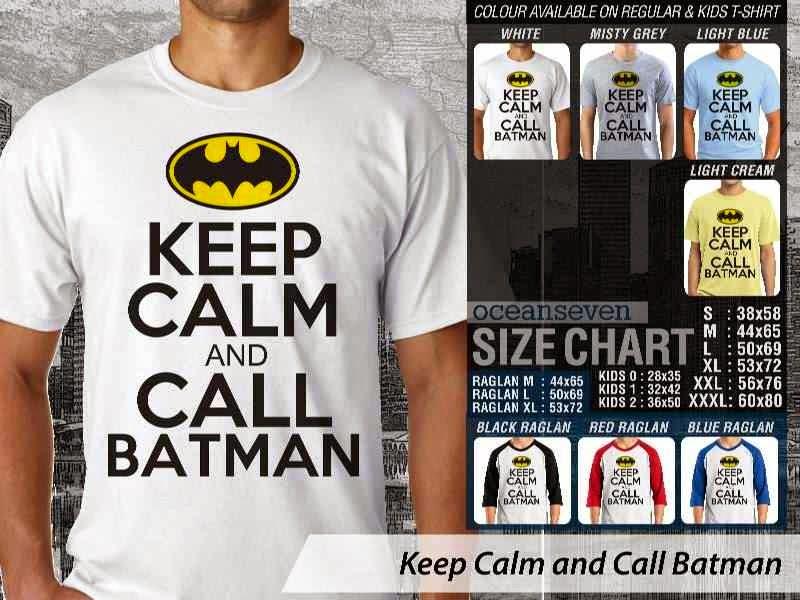 KAOS Keep Calm And Call Batman distro ocean seven