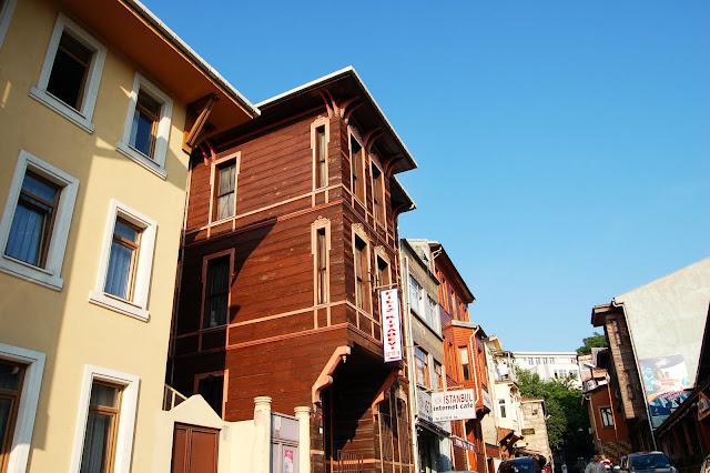 Турция: Улицы Стамбула, дома