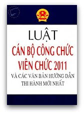 Luat can bo cong chuc