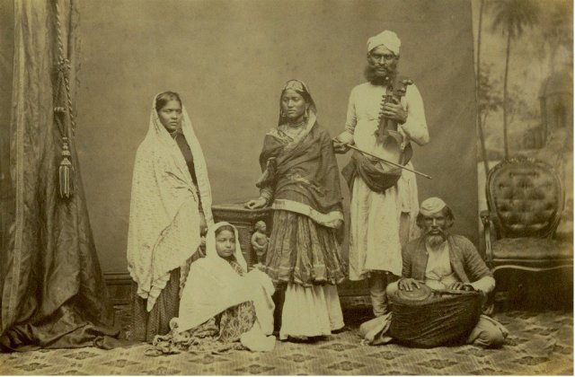 Group of Indian Musicians and Singers
