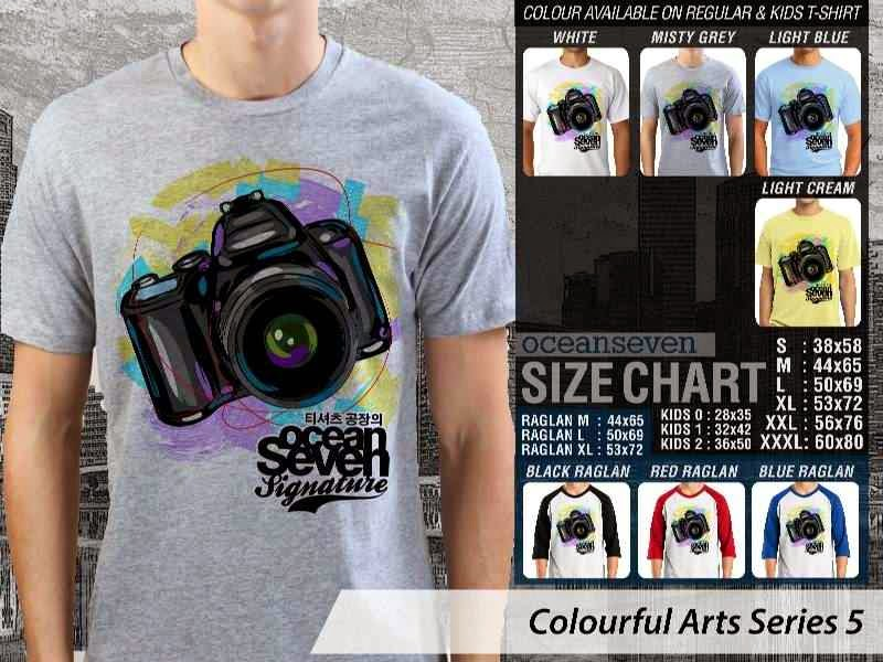 KAOS keren Colourful Arts Series 5 Camera Kamera | KAOS Colourful Arts Series 5 distro ocean seven