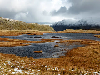 Another tarn between Steel Fell and Calf Crag