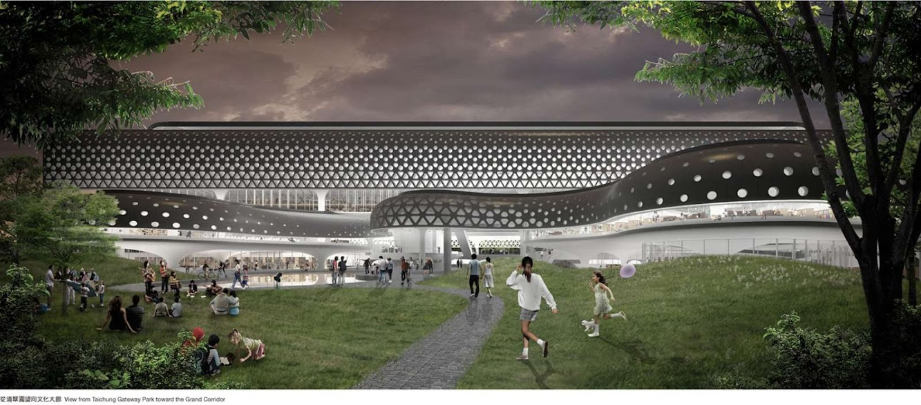 Mass Studies (South Korea) with joint tenderer Q-Lab (Taiwan) and Wang Architects & Associates (Taiwan)