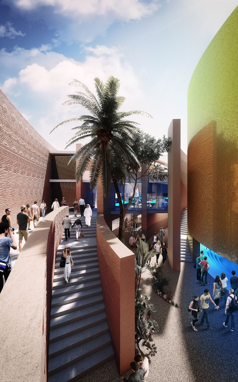 Uae pavilion Expo 2015 by Foster Partners