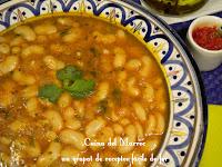 Mongetes seques a la marroquí - Loubia