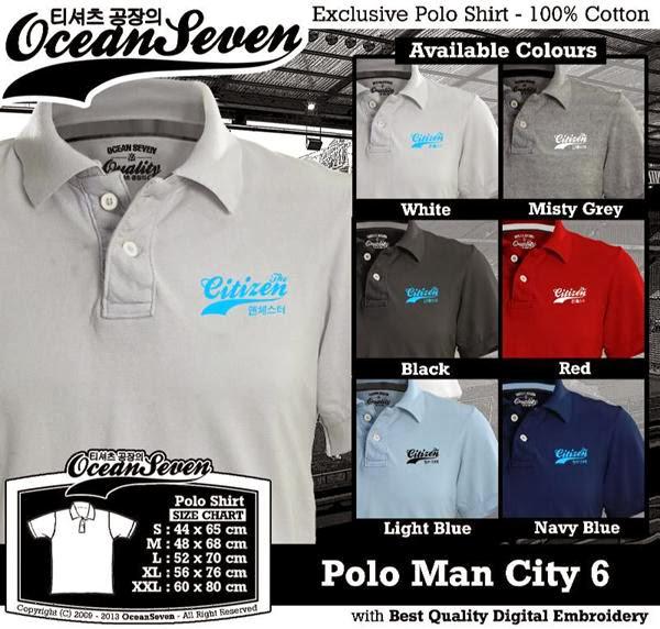 POLO Man City Manchester City 6 Premier League distro ocean seven