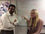 Ranjit and Nico and their drawing