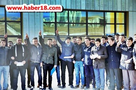 Çankırı Karatekin Üniversitesi öğrencileri Terörü Lanetledi