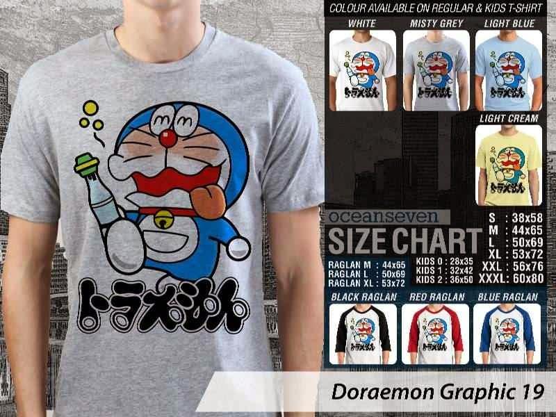 KAOS Doraemon 59 Manga Lucu distro ocean seven