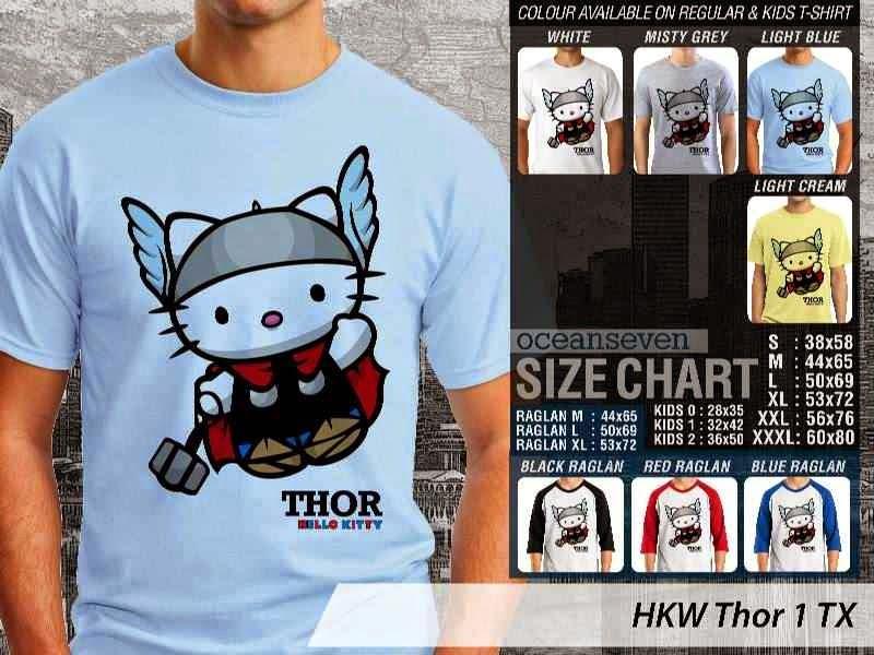 Jual Kaos kartun lucu Thor 1 distro ocean seven