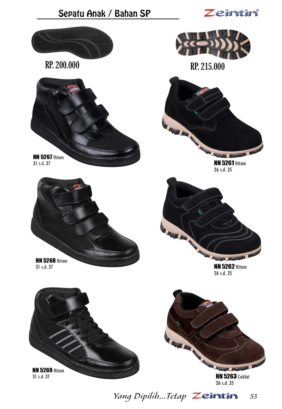 TasampSepatu Model Sepatu Anak Sekolah