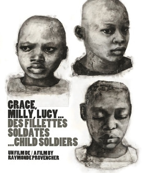 Grace, Milly, Lucy. Ma³e ¿o³nierki / Grace Milly Lucy Child Soldiers (2010) PL.TVRip.XviD / Lektor PL