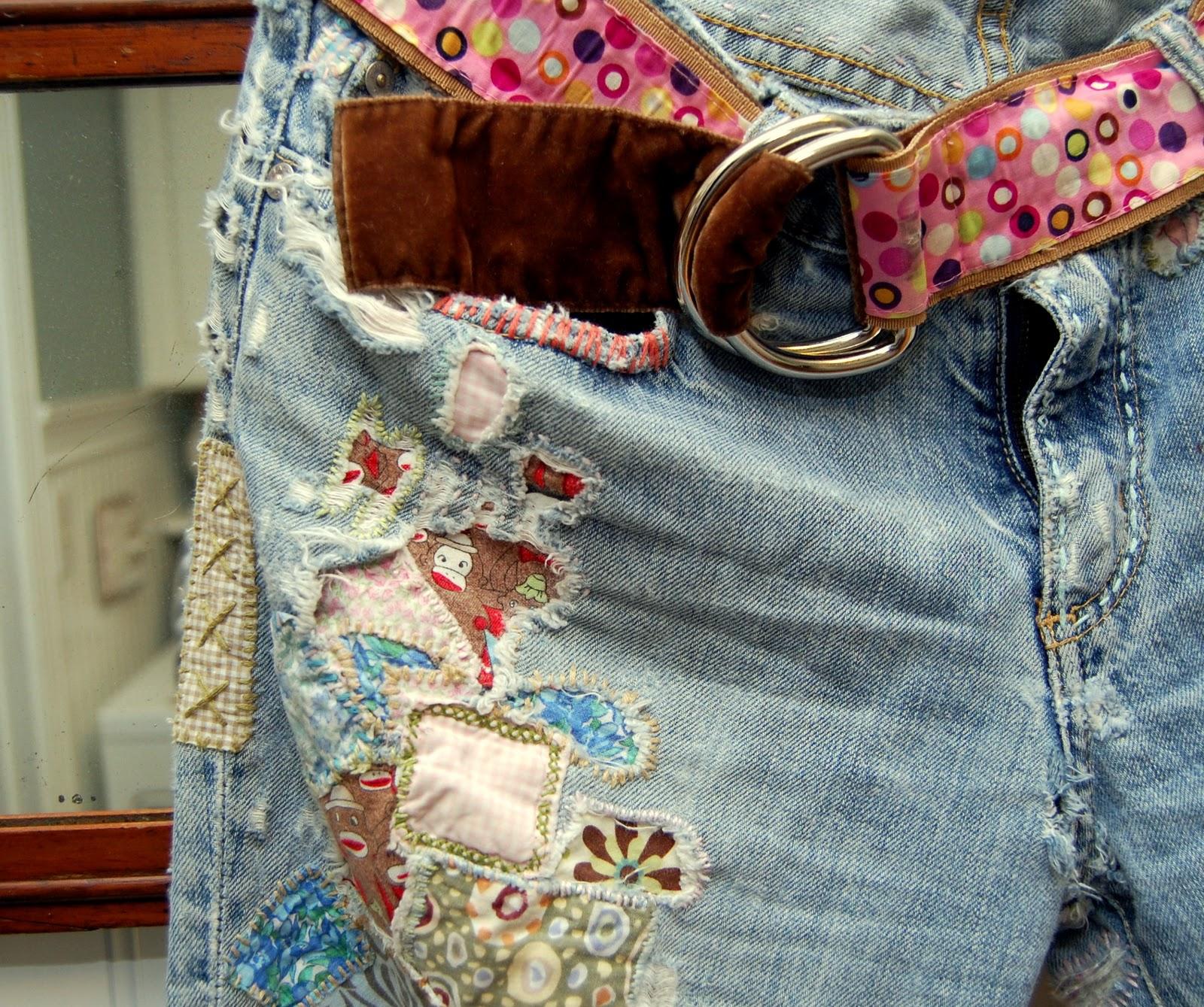 Как украсить джинсы (122 фото) 57