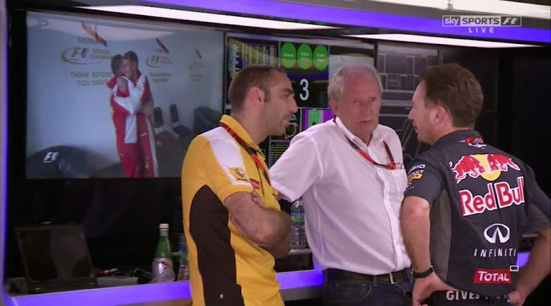 побеждающий Себастьян Феттель и негодующий Red Bull на Гран-при Малайзии 2015