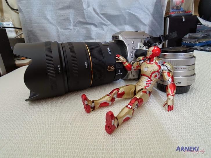 Simga 85mm F1.4 EX DG HSM開箱+亂入的鋼鐵人