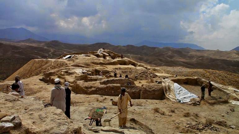 Archaeologists still scrambling to save Mes Aynak