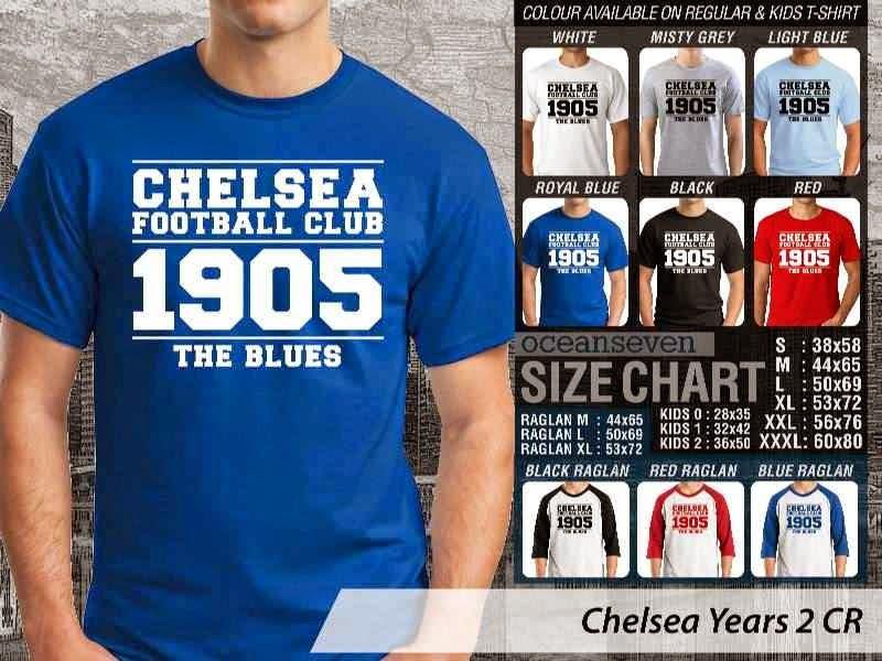 KAOS Chelsea 29 Liga Premier Inggris distro ocean seven