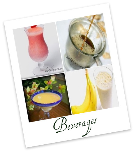 Veg-Recipes -Beverages recipes |kothiyavunu.com