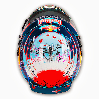 шлем Себастьяна Феттеля для Гран-при Японии 2013