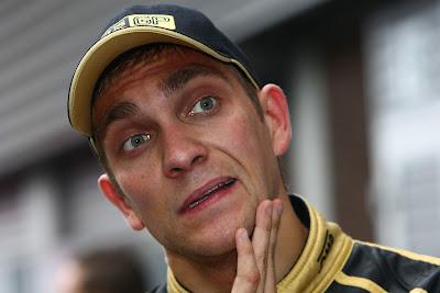 Виталий Петров на Гран-при Бельгии 2011