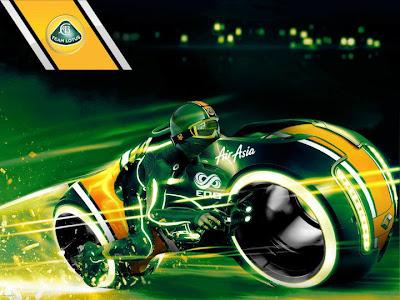работа победителя конкурса от Ruroc и Team Lotus