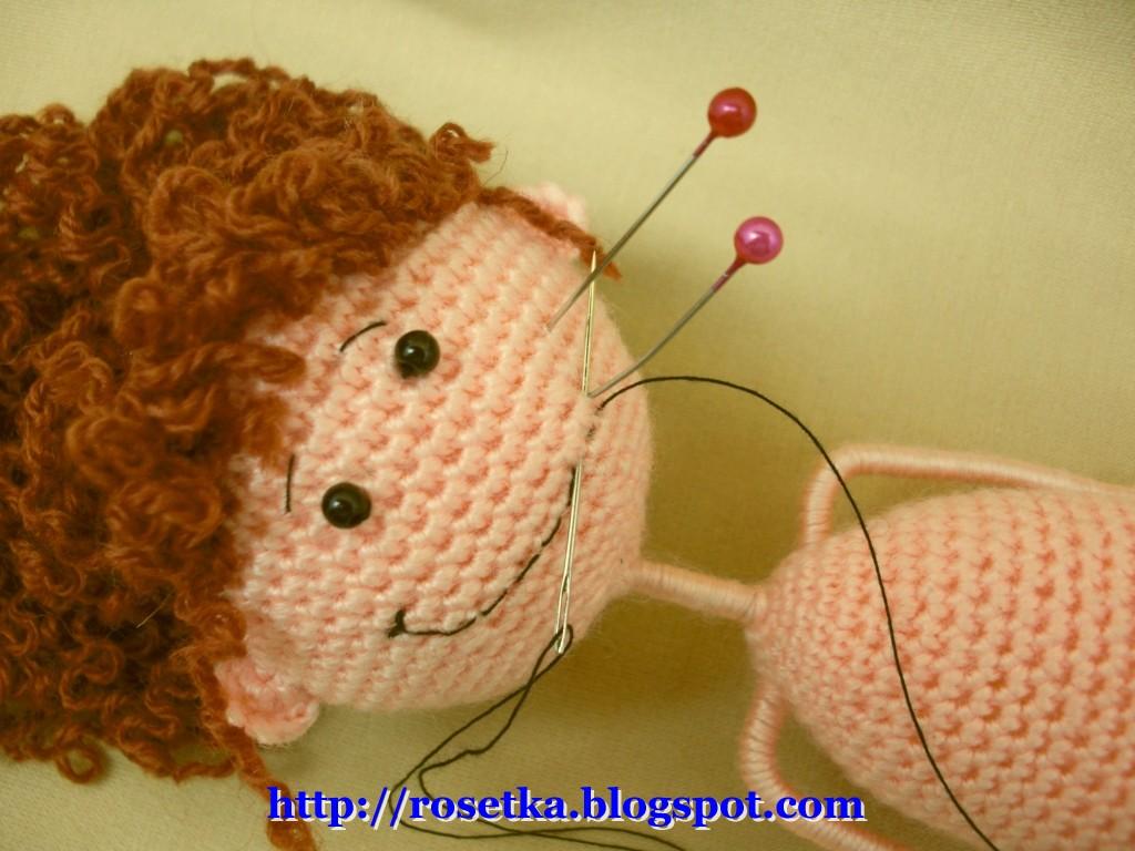 Сделать красивую куклу своими руками