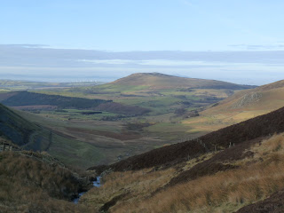 Binsey from the bottom of Birkett Edge on the Cumbria Way