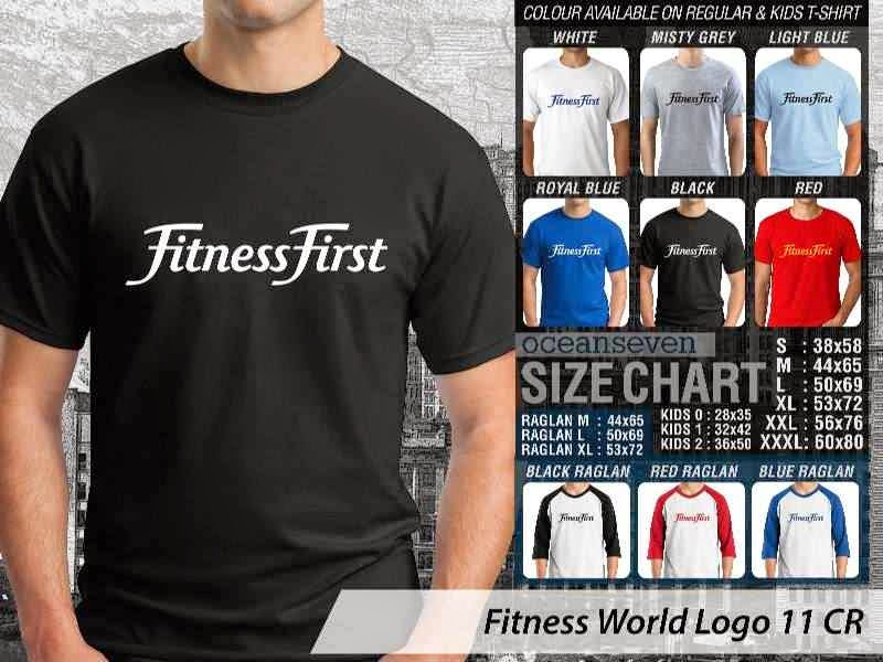 KAOS Fitness First Fitness & Gym Series distro ocean seven