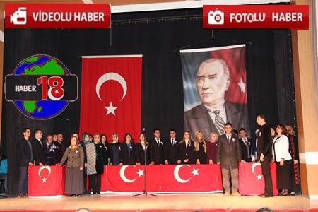 Çankırı'da 24 Kasım Öğretmenler Günü Münasebetiyle 100. Yıl K