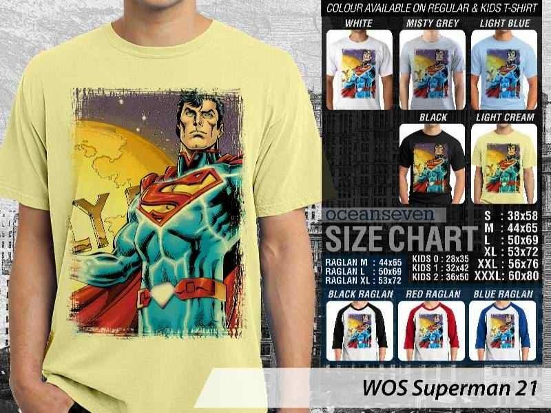 KAOS superman 21 Movie Series distro ocean seven