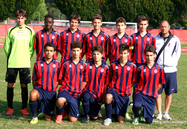 Allievi regionale, 3-0 al Concordia, in testa alla classifica