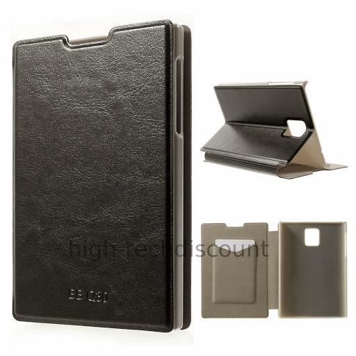 housse etui coque portefeuille pour blackberry passport film ecran noir ebay. Black Bedroom Furniture Sets. Home Design Ideas