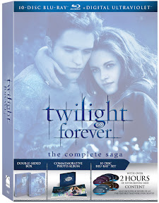 Twilight Forever: The Complete Saga Blu-ray o DVD