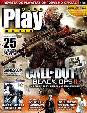 Play Mania Revista Nº 165 [Septiembre 2012] [Español]
