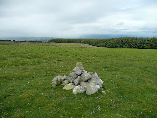Another ancient cairn on Heughscar Hill