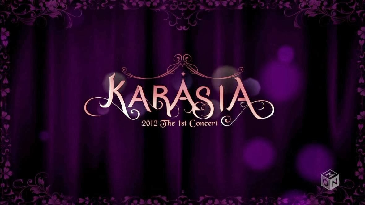 KARA – KARA ライブ・イン・ソウル ~KARASIA 2012~ KARASIA 2012 The 1st Concert IN SEOUL (M-ON! HD)