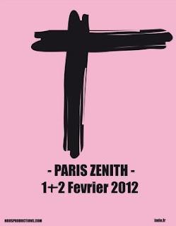Indochine el 01 y 02 de febrero 2012 en el Zénith de París