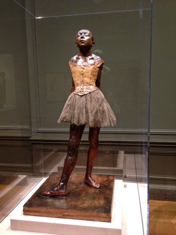 Degas, national gallery of art, NGA, Little Dancer Aged Fourteen