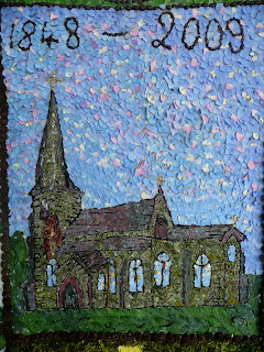 Grindon Church - Grindon Well Dressing