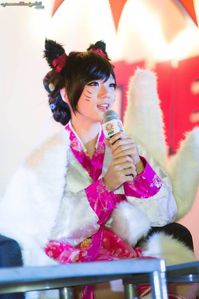 Miyuko khoe cosplay Ahri tại STGCC 2013 - Ảnh 6