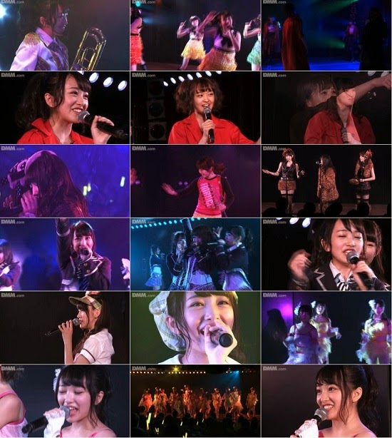 "(LIVE)(公演) AKB48 チーム4 ""アイドルの夜明け"" 向井地美音の生誕祭 150211"