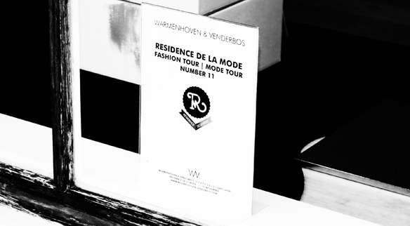 WARMENHOVEN & VENDERBOS POP-UP BOUTIQUE AT THE RESIDENCE DE LA MODE | NOORDEINDE 45 DEN HAAG | POP-UP WINKEL
